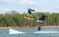 Wasserski- und Wakeboardanlage am Halbendorfer See, Foto: Wake and Beach Halbendorf